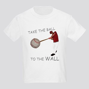 Take the Ball to the Wall Kids Light T-Shirt