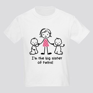 eb5016ff82f Big Sister of Twins T-Shirt