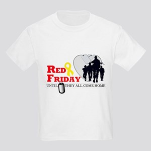 Red Friday - Until They All C Kids Light T-Shirt