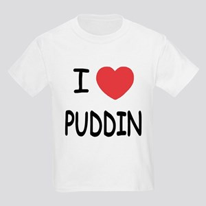 I heart puddin Kids Light T-Shirt
