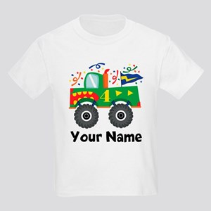 b1506b31d 6th Birthday Monster Truck T-Shirt. $34.50 · Personalized 4th Birthday  Monster Truck Kids Light