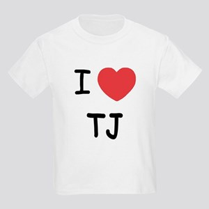 I heart TJ Kids Light T-Shirt