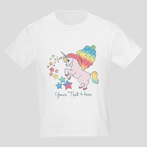 a7ef2b0b Unicorn Rainbow Star Kids Light T-Shirt