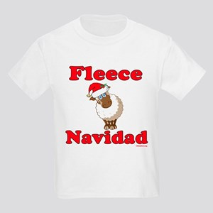 Fleece Navidad Kids Light T-Shirt