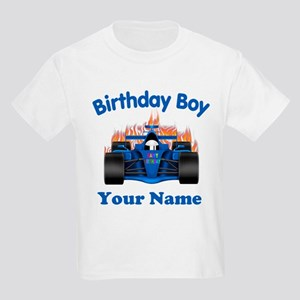 Birthday Boy Car Kids Light T-Shirt