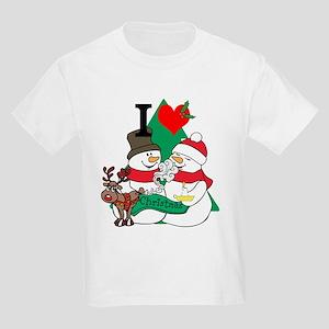 d5e0789c Crazy Christmas Kids T-Shirts - CafePress