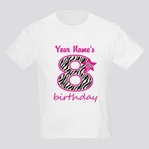 ab6d318d 8th Birthday - Personalized T-Shirt