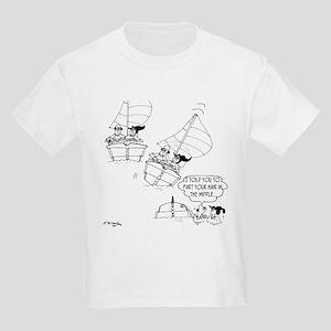 0a76239db8 Sailing Cartoon 7510: Kids Light T-Shirt