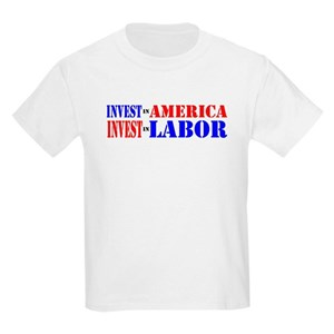 ceff28e14131c3 Labor Union Kids T-Shirts - CafePress