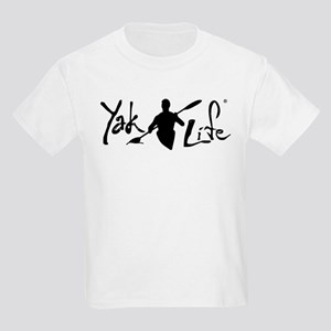 YakLife Logo Black Kids Light T-Shirt