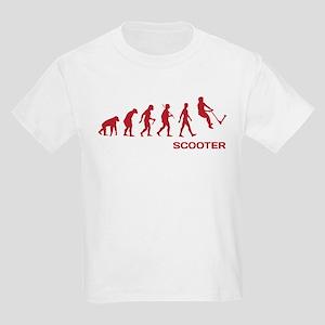 ffe5ec23 Darwin Ape to man Evolution Push Kick Scooter T-Sh