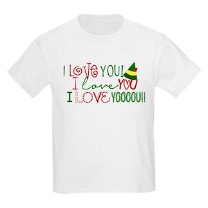 27ad81ba Christmas Sayings Kids T-Shirts - CafePress