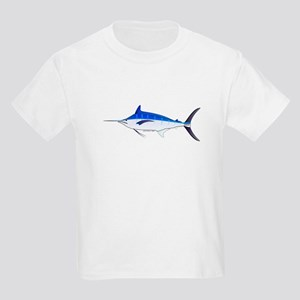 Blue Marlin fish Kids Light T-Shirt
