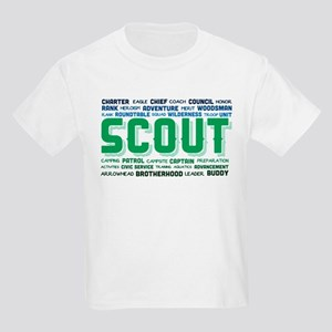 9964b528 Scout Word Cloud Kids Light T-Shirt