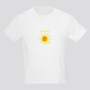 Milan, Italy Kids Light T-Shirt