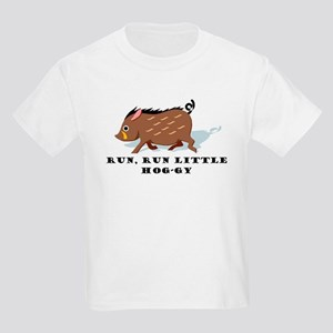 Run Lil' Hog Kids Light T-Shirt