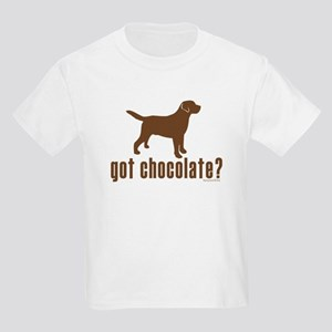 got chocolate lab? Kids Light T-Shirt