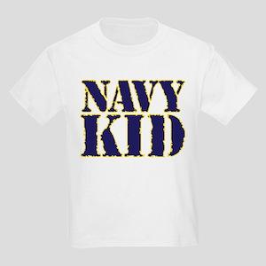 51f8e6fe Navy Brat Kids T-Shirts - CafePress