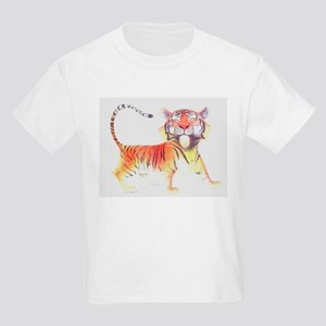 1a4e977c 1900s Tiger Big Cat Wild Cat Moon Painting C Kids Clothing ...