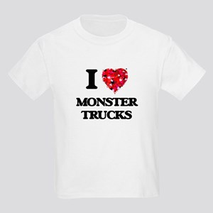 I love Monster Trucks T-Shirt