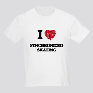 I Love Synchronized Skating T-Shirt