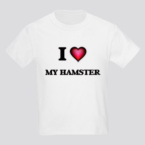 I Love My Hamster T-Shirt