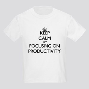 Keep Calm by focusing on Productivity T-Shirt