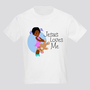 Jesus Loves Me Kids Light T-Shirt