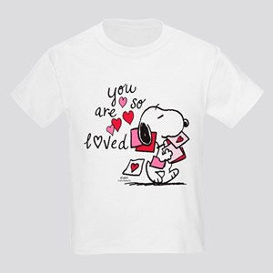 Snoopy - You Are So Loved Kids Light T-Shirt