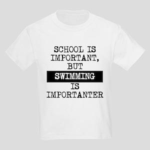 6b90b1c3 Funny Swim Quotes Kids T-Shirts - CafePress