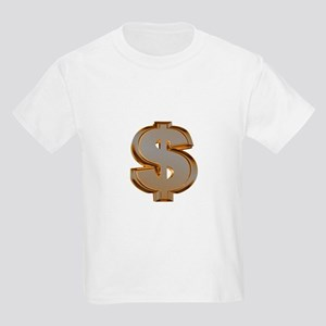 Dollar Signs Kids T-Shirt