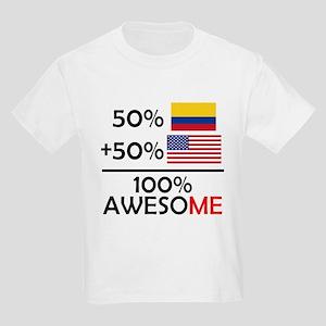 d385ff3ecb2 Half Colombian Half American T-Shirt