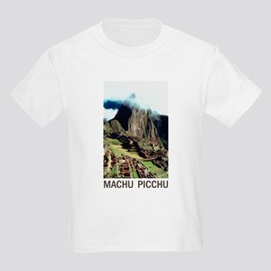 020a4485 Machu Picchu Kids T-Shirts - CafePress
