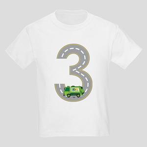 3rd Birthday Garbage Truck T Shirt