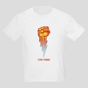 ab8680049d0dca Unionize - Lightning Fist Kids Light T-Shirt