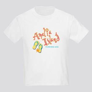 Amelia Island - Kids Light T-Shirt