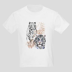817b00268c6d2 White Tigers Shirts Kids Light T-Shirt