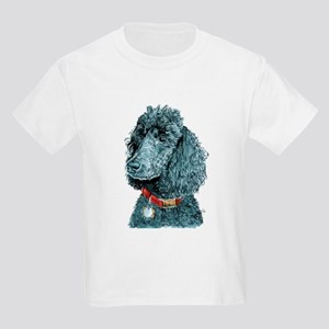 Black Poodle Whitney Kids Light T-Shirt