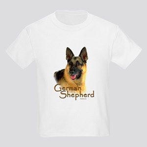 German Shepherd Dog-2 Kids Light T-Shirt