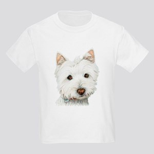 Westie Dog Kids Light T-Shirt