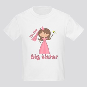 a391c57f i'm the big sister princess Kids Light T-Shirt