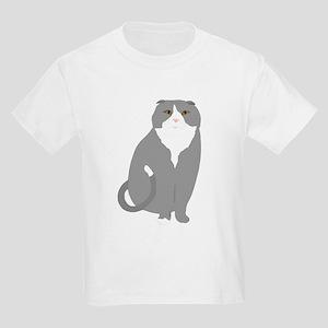 Scottish Fold Kids T-Shirts - CafePress