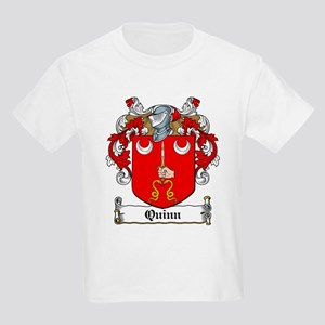 Quinn Coat of Arms Kids T-Shirt