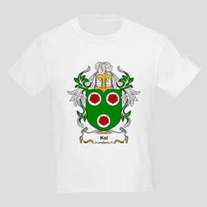 Kol Coat of Arms Kids T-Shirt