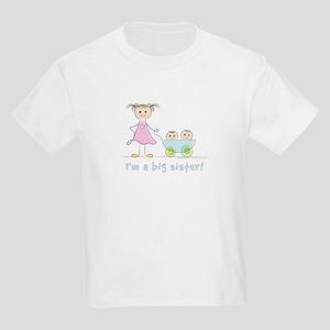 616339d96 I'm a big sister kid's t-shirt: twins