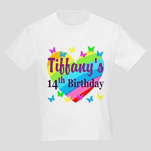 14TH BIRTHDAY Kids Light T Shirt