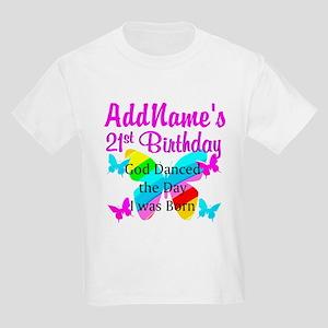 CHRISTIAN 21 YR OLD Kids Light T Shirt