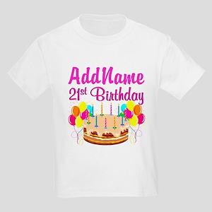 DAZZLING 21ST Kids Light T Shirt