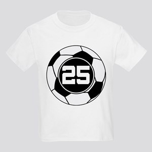 Soccer Number 25 Player Kids Light T-Shirt