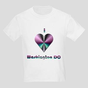 c102573d7b9b I Love Washington DC #2 Kids Light T-Shirt